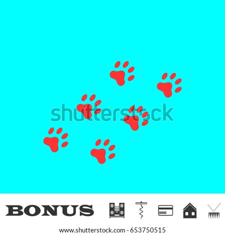 Blue Paw Logo Du