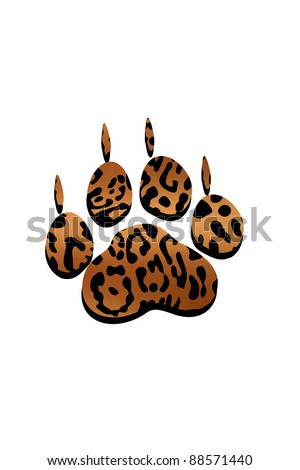 Leopard claws Stock Ph...