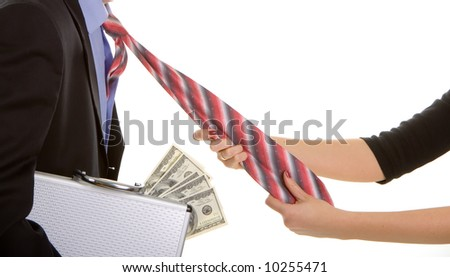 paycheck - stock photo