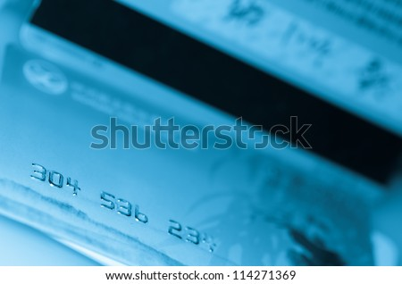 payment credit card - stock photo