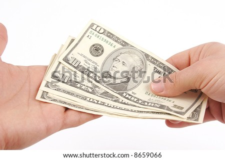 Payout Day - stock photo