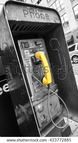 PAYPHONE IN NEW YORK