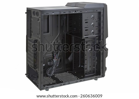PC case - stock photo