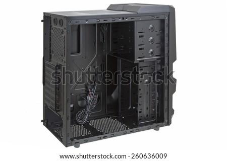 PC case - stock photo