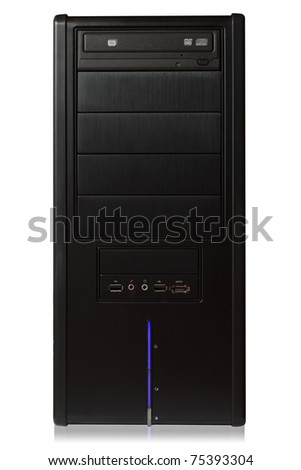 Pc case - server - stock photo