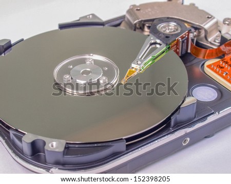 PC hard disk magnetic drive for data storage
