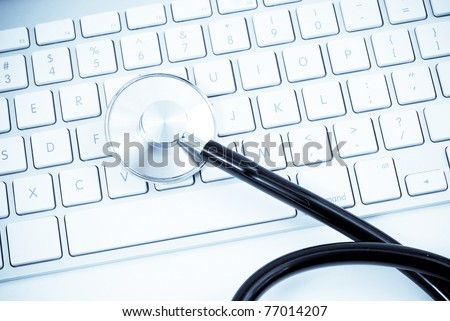 PC Health Check - stock photo
