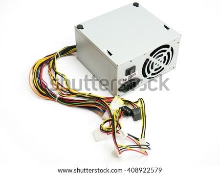 PC power supply - stock photo