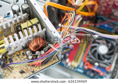 Pc Power Supply Repair Stock Photo 626134517 - Shutterstock
