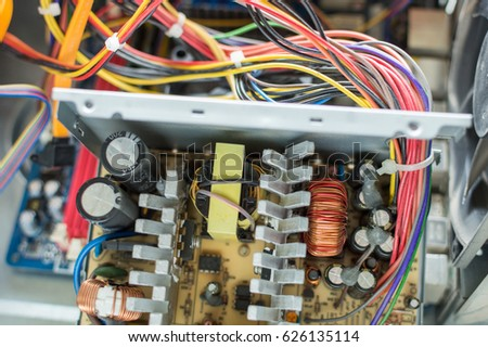 PC Power Supply Repair Stock Photo (Royalty Free) 626135114 ...