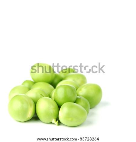Pea bean pile - stock photo