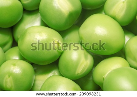 Pea green peas close-up as a background