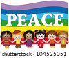 peace - stock photo