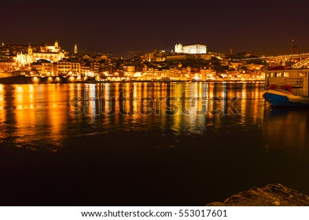 Peace Porto night