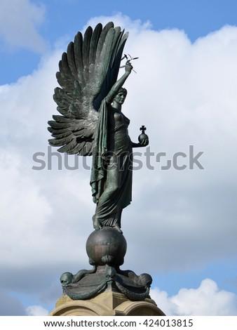 Peace Statue in Brighton, England - stock photo