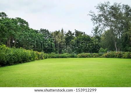 Peaceful Garden - stock photo