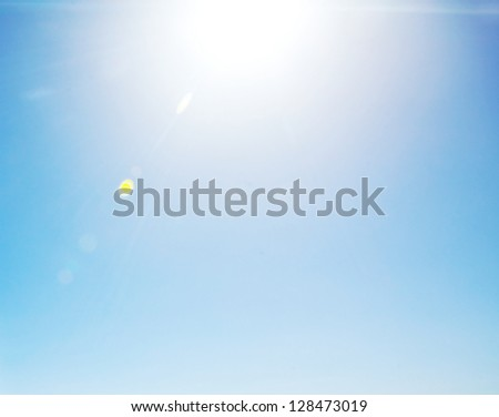 Peaceful sky - stock photo
