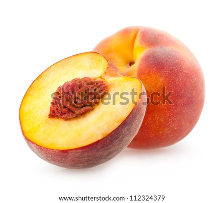 peach - stock photo