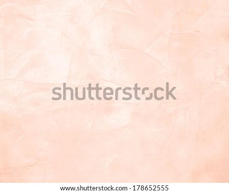 peach stucco background - stock photo