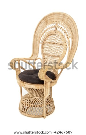 Peacock Chair - stock photo