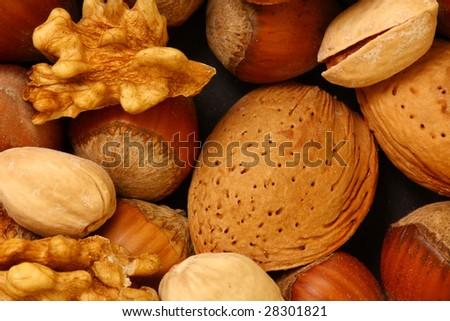 Peanuts - stock photo