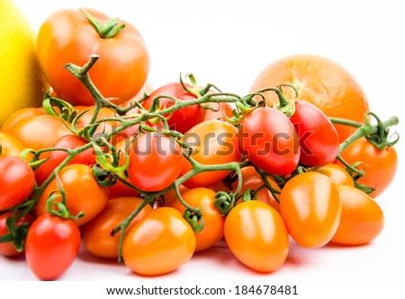 Pearl tomatoes