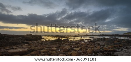 Pearly Beach Seascape - stock photo