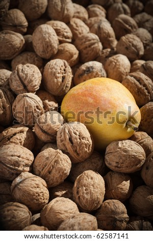 pears and walnuts