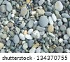 pebble background - stock photo
