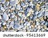 pebble beach Tuscany - stock photo