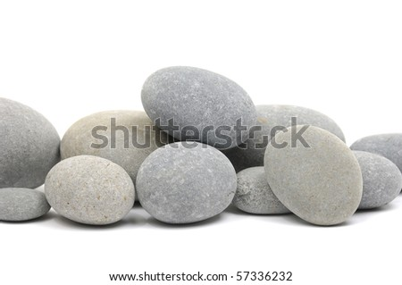 Pebble Rounded stone background
