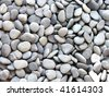 Pebble stones, background - stock photo