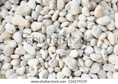 Pebble texture - stock photo