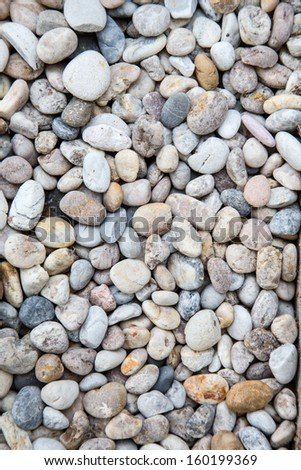 Pebble texture - stock photo
