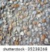 Pebble tile background - stock photo