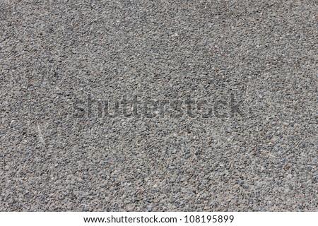 Pebbles stone road texture background - stock photo