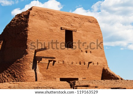 Pecos National Historic Park near Santa Fe, New Mexico, USA - stock photo