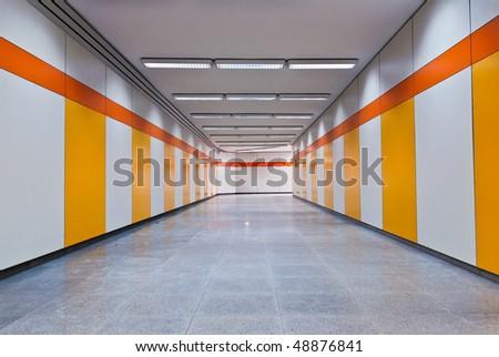 Pedestrian Underpass - stock photo