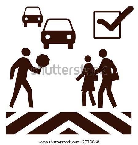 Crossing Guard Sign Stock Images, Royalty-Free Images & Vectors ...