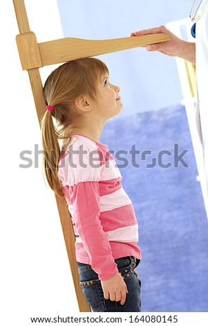 Little Girl On A Scale Stock Photos Images Amp Pictures