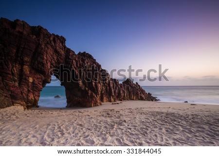 Pedra Furada, Brazil - stock photo