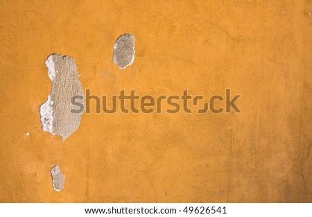 Peeling cement wall texture - stock photo