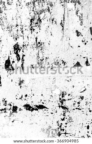 Peeling paint / Graffiti / Ripped paper - stock photo