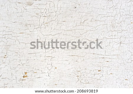Peeling Paint on the Wall - stock photo
