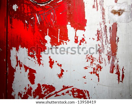 Peeling Paint Photo Of Wall For Background