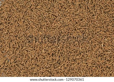 pellets background - stock photo