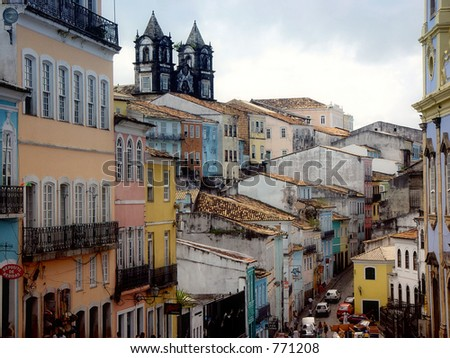 Pelourinho - stock photo
