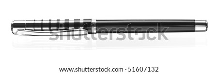 pen isolated on white