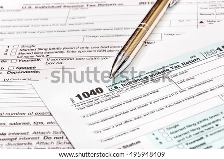 Medicare Insurance Form Glasses Pen Stock Photo 146829464