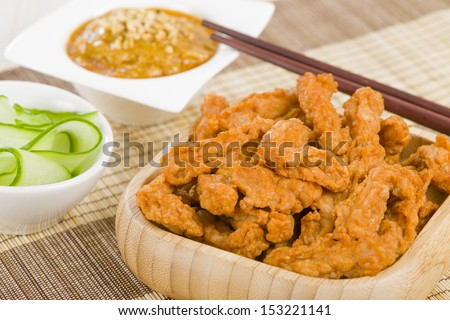 Chicken Bites Stock Photos, Images, & Pictures | Shutterstock